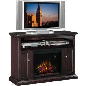 Classic Flame Cannes Electric Fireplace Insert & Home Theater Mantel