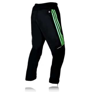 ADIDAS SUPERNOVA MENS BLACK ATHLETIC TRAINING TRACK PANTS TRACKSUIT