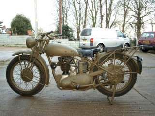 Triumph 3HW military motorbike collectors classic army allied 1945