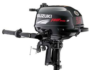 SUZUKI DF 2.5 HP FOUR STROKE OUTBOARD ENGINE BOAT MOTOR