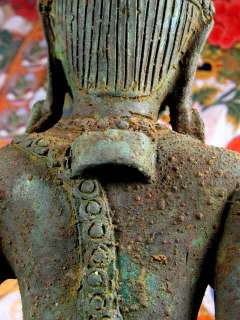 Large Old QUAN YIN CHENREZIG BUDDHA Blessed Statue