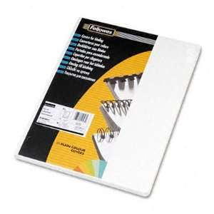 o Fellowes o   Classic Binding Cover, Grain Texture 60