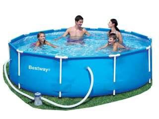 Bestway Steel Pro Frame 10FT Swimming Pool & Pump 6942138950854