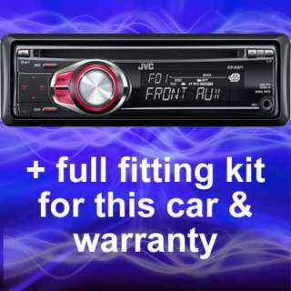 Automotive   RENAULT LAGUNA REPLACEMENT JVC CD PLAYER/RADIO/STEREO