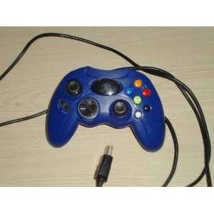 HIP Gear Xbox Wired Controller   Blue Original Xbox