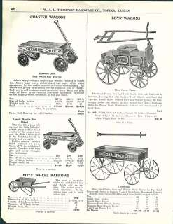 Shawnee Chief Wood Coaster Wagon Burnham Bowman Kelly Kar Blue Grass