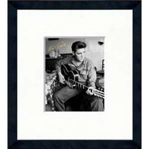 Elvis Presley   Army Barracks   Framed 8 x 10 Photograph