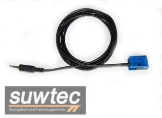 AUX Adapter Kabel VW RCD 210, RCD 310 iPhone