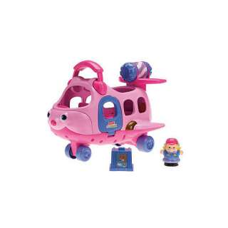 Fisher Price Little People Spin N Fly Airplane   Pink   Fisher Price