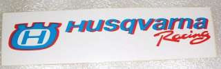 Autocollant HUSQVARNA sticker moto cross enduro NEUF