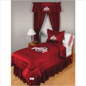 84 Sports Coverage Ohio State Comforter   Full/Queen Sports Fan Shop