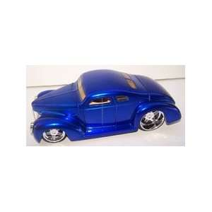 Jada Toys 1/24 Scale Diecast D rods 1940 Ford in Color Blue: Toys