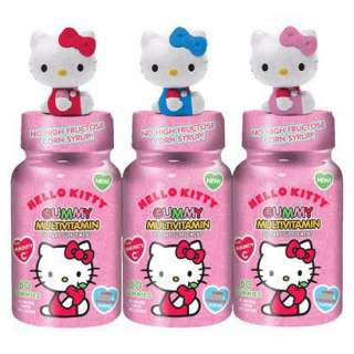 Hello Kitty Gummy Vitamins   3 Pack (180 Count).Opens in a new window