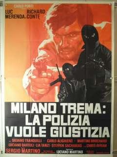 Manifesto italiano 4 fogli originale / Italian original 4 sheets