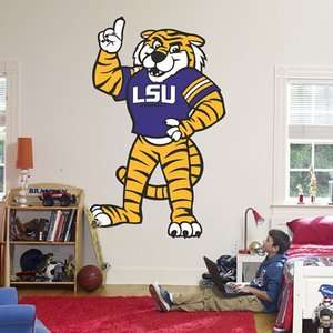 Fathead Mike The Tiger   LSU Mascot Wall Graphic