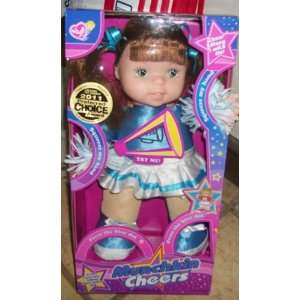 Munchkin Cheerleader 13 inch Electronic Talking Doll  Toys & Games