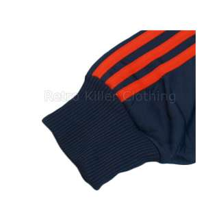 Adidas Originals Firebird Dark Blue Orange Sportswear TT Tracksuit Top