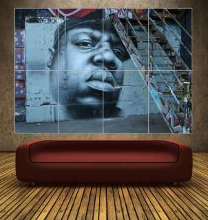 NOTORIOUS B.I.G   GRAFFITI ART   GIANT POSTER ART PRINT
