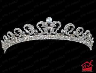 Bridal Tiara Kate Middleton Royal Wedding Princess Crown