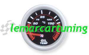 Strumento temperatura olio motore 52 mm LED 7 colori