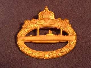 Kriegsmarine WWI German U Boat Medal