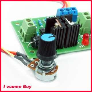 100% Brand New 12V 24V 3A DC Motor Speed Control PWM HHO RC