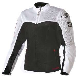 JOE ROCKET SPEED MESH WOMENS TEXTILE JACKET BLACK/WHITE XL