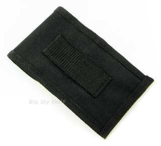 Camillus Black Nylon Folding Pocket Knife Belt Sheath Pouch
