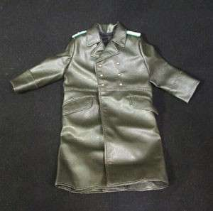 WWII German Uniform Leather Trench Coat