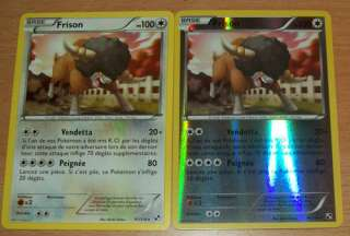 Carte Pokémon frison 91/114 holo neuves