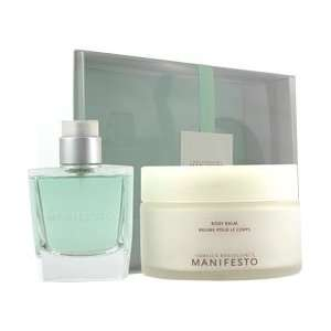 Manifesto By Isabella Rosellini 2 Piece Set: 2.5 Oz EDT Spray+ 3.4 Oz