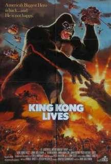 KING KONG LIVES orig 1 sht movie poster LINDA HAMILTON