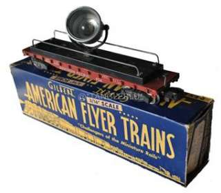 1954 AMERICAN FLYER 3/16 S Gauge Scale TRAIN SET w/TRACKS + EXTRAS