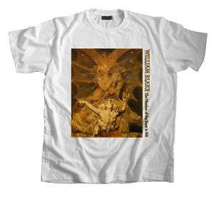 Art T Shirt William Blake Number of the Beast is 666