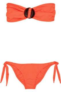 Melissa Odabash Orlando embellished bandeau bikini    Now at