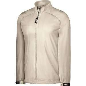 Storm Full zip Soft Shell Jacket   Ecru/Sterling Extra Large Sports