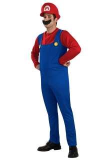 Costumes 70s / 80s Costumes Mario & Luigi Costumes Adult Mario Costume