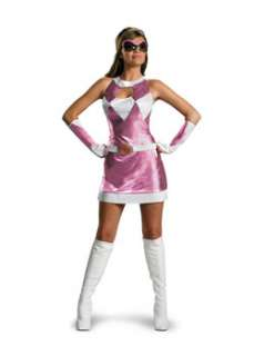 Deluxe Sassy Pink Power Ranger  Cheap TV & Movie Halloween Costume