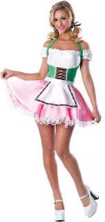 Sexy Beer Garden Girl Costume   German and Oktoberfest Costumes