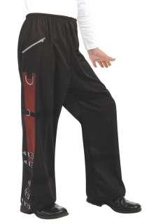 Boys Black Michael Jackson Buckle Pants   Michael Jackson Costumes