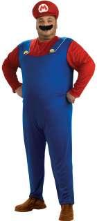 Plus Size Mario Costume   Nintendo Super Mario Brothers Costumes