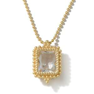 MichaeLisa Jewelry Designs® Emerald Cut Gemstone Pendant