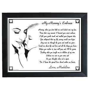 Personal Creations My Mommys Embrace Keepsake Print   11 x 14 at