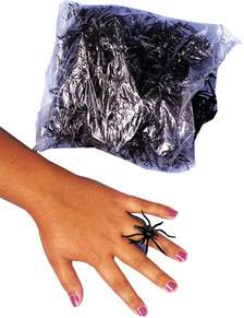 Spider Rings, Bag Of 1441 Pc (Props & Decor)