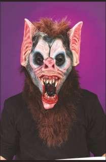 Adult Deluxe Vampire Bat Mask with Teeth   Vampire Bat Dlx Mask Teeth
