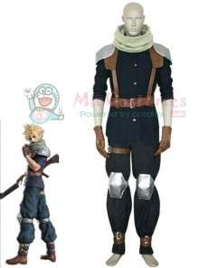 Final Fantasy VII Crisis Core Cloud Strife Cosplay Costume  Final