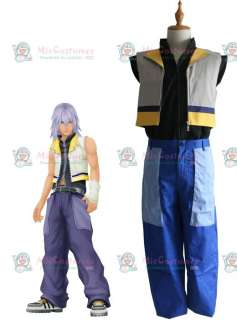 Kingdom Hearts II Riku Cosplay Costume for Sale