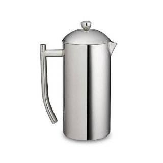 Insulated Stainless Steel Mirror Finish Coffee Press