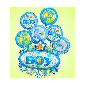 Flowers by 1800Flowers   Baby Boy Marquee Mylar Bundle   Large