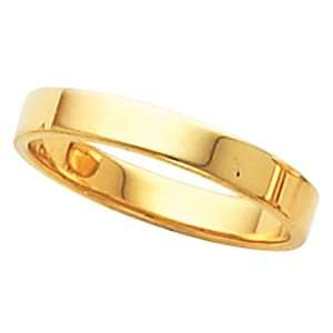 Genuine IceCarats Designer Jewelry Gift 10K Yellow Gold Wedding Band